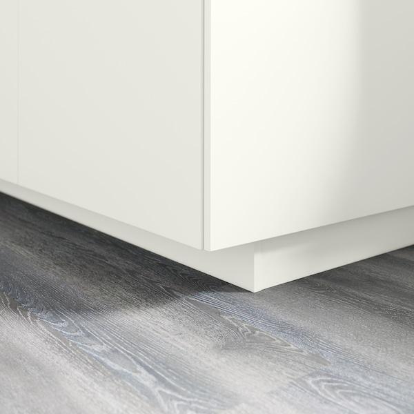 FÖRBÄTTRA Sokkelfront, hvit, 220x8 cm