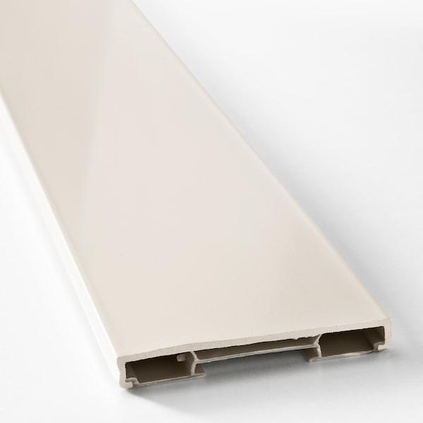 FÖRBÄTTRA Sokkelfront, offwhite, 220x8 cm