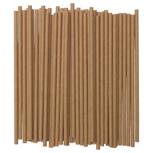 FÖRNYANDE Sugerør, papir/brun