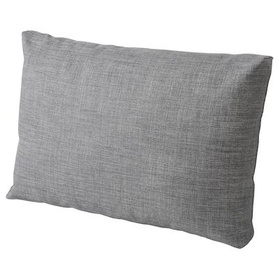 FRIHETEN Komfortpute, Skiftebo mørk grå, 67x47 cm