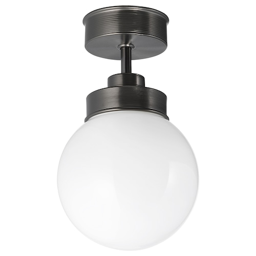 FRIHULT taklampe svart 5.3 W 25.0 cm 15 cm