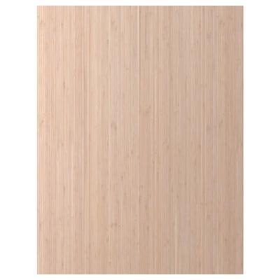 FRÖJERED Dekkside, lys bambus, 62x80 cm