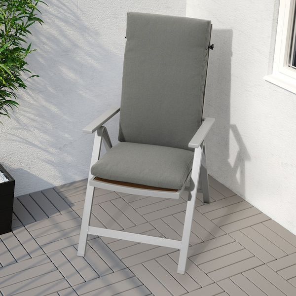 FRÖSÖN/DUVHOLMEN sitte/ryggpute, utendørs mørk grå 116 cm 45 cm 71 cm 42 cm 5 cm