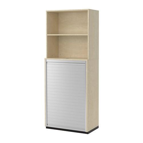 GALANT Oppbevaringskombinasjon med sjalusi bjorkefiner IKEA