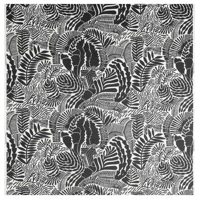 GATKAMOMILL Metervare, hvit/mørk grå, 150 cm
