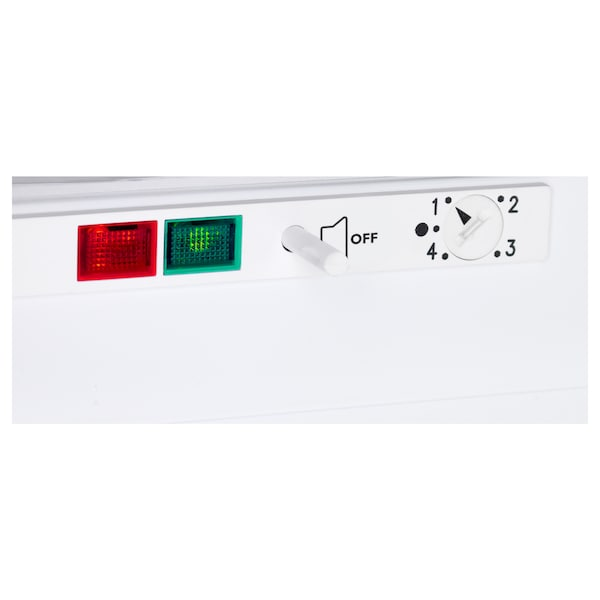 GENOMFRYSA integrert fryser A+ hvit 59.7 cm 54.5 cm 81.9 cm 245 cm 91 l 35.20 kg