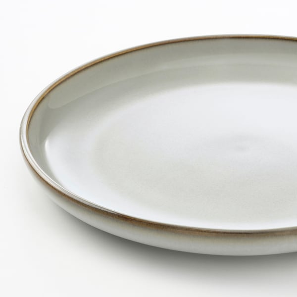 GLADELIG Asjett, grå, 20 cm