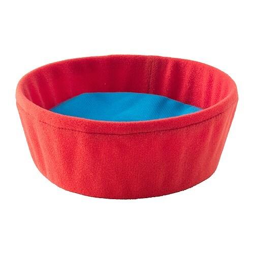 GOSIG Matskål til kosedyr, rød Diameter: 14 cm