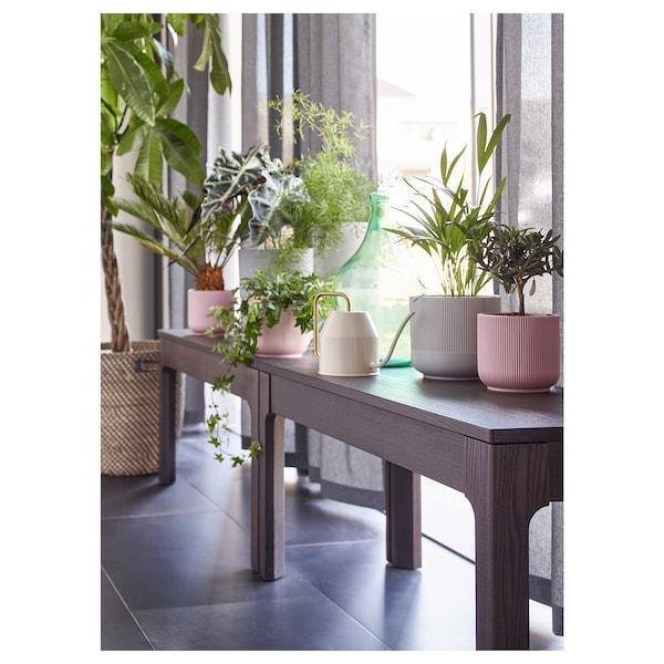 GRADVIS Blomsterpotte, grå, 15 cm