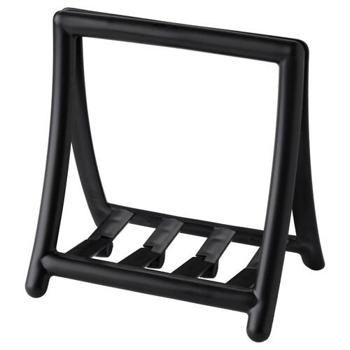 GREJA serviettholder svart 15.5 cm 11 cm 16.5 cm