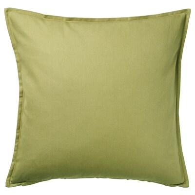 GURLI Putetrekk, olivengrønn, 50x50 cm