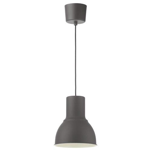 HEKTAR taklampe mørk grå 22 W 22 cm 26 cm 160 cm