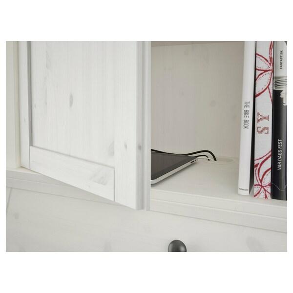 HEMNES Påbygg skatoll, hvit beis, 89x90 cm