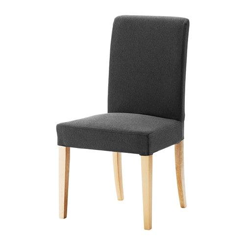 Henriksdal stol dansbo m rk gr ikea - Ikea fodere sedie ...
