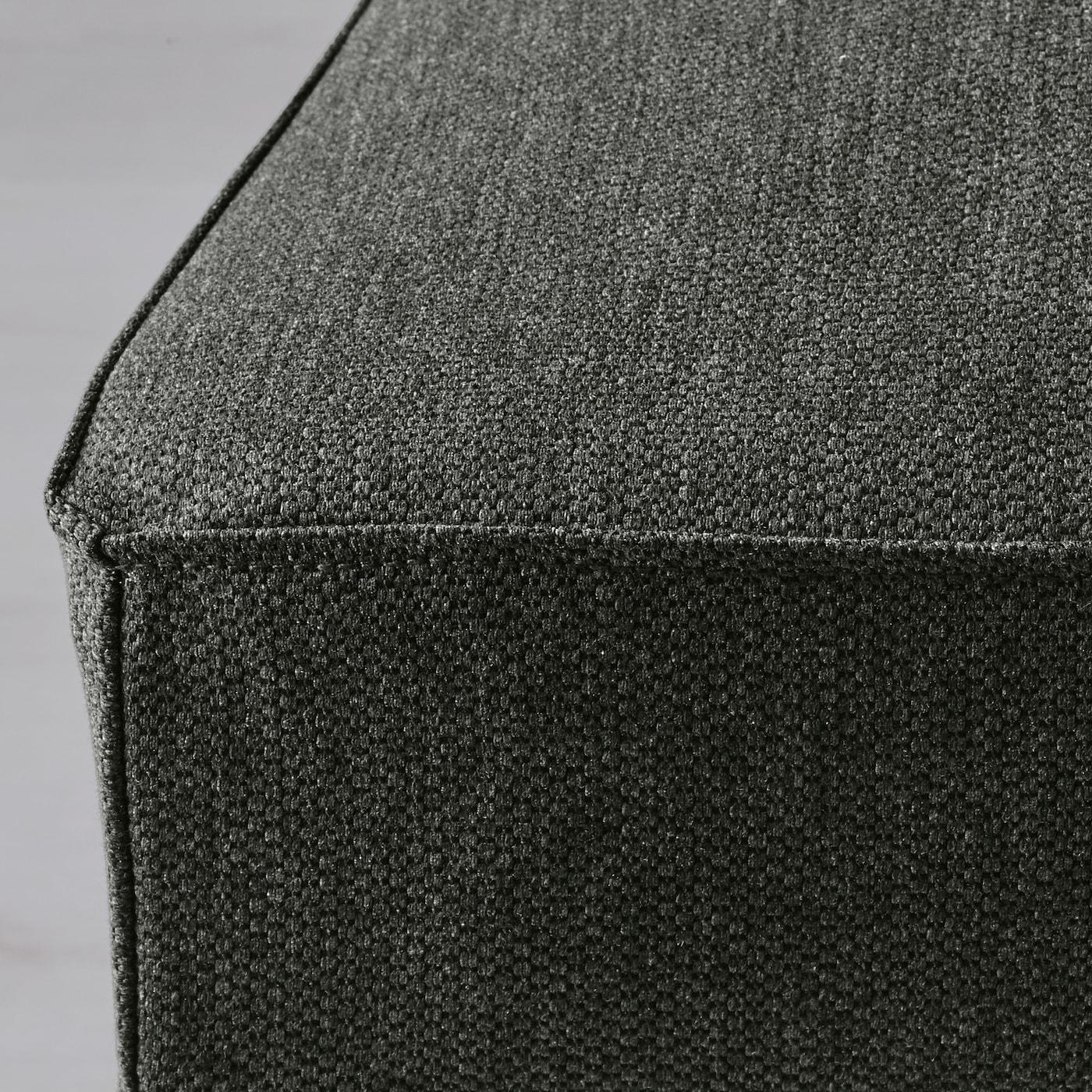 HENRIKSDAL Stoltrekk Dansbo mørk grå IKEA