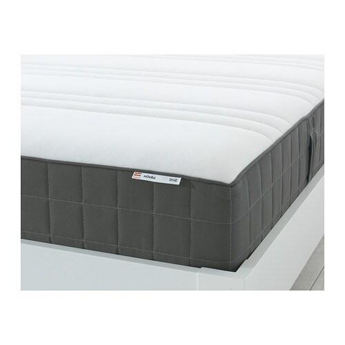 h v g madrass med pocketfj rer 80x200 cm medium m rk gr ikea. Black Bedroom Furniture Sets. Home Design Ideas