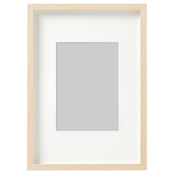 HOVSTA Ramme, bjørkemønstret, 21x30 cm