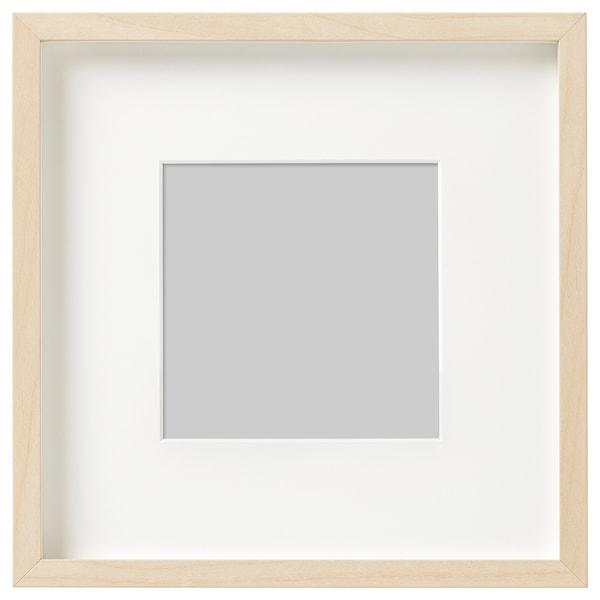 HOVSTA Ramme, bjørkemønstret, 23x23 cm