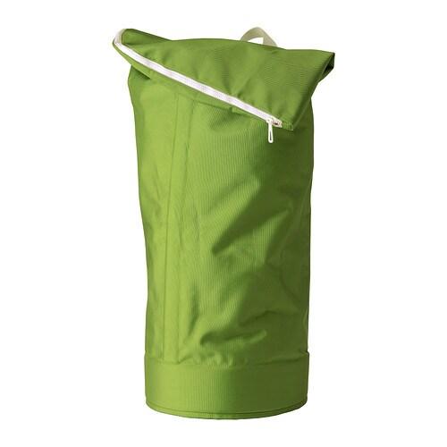 HUMLARE Bag til kildesortering IKEA Denne baggen kan bæres på ulike måter, i håndtakene eller som en ryggsekk.