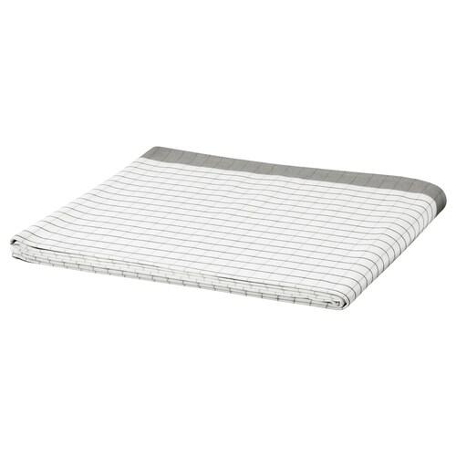 IKEA 365+ duk hvit/grå 240 cm 145 cm