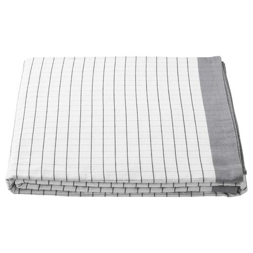 IKEA 365+ duk hvit/grå 320 cm 145 cm