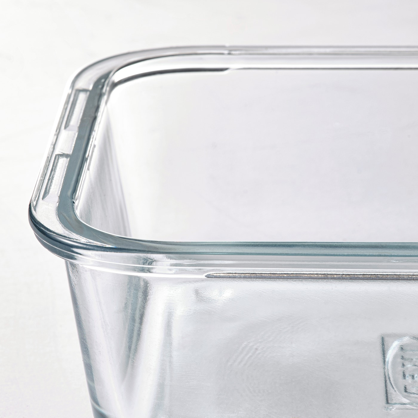 IKEA 365+ Boks, rektangulær/glass, 1.0 l