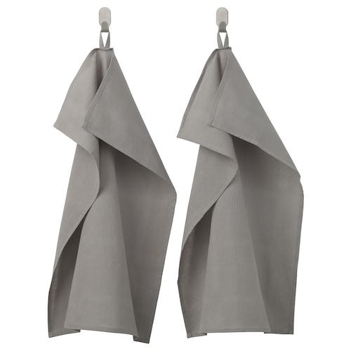IRIS kjøkkenhåndkle grå 70 cm 50 cm 2 stk.