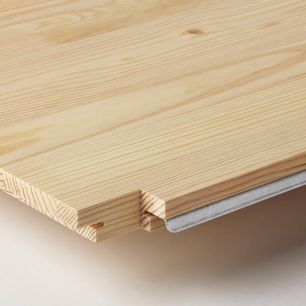 IVAR Hjørnehylleplate, furu, 56x56x30 cm