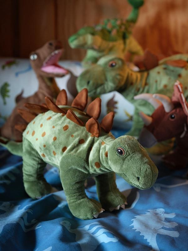 JÄTTELIK Kosedyr, dinosaur/dinosaur/stegosaurus, 50 cm