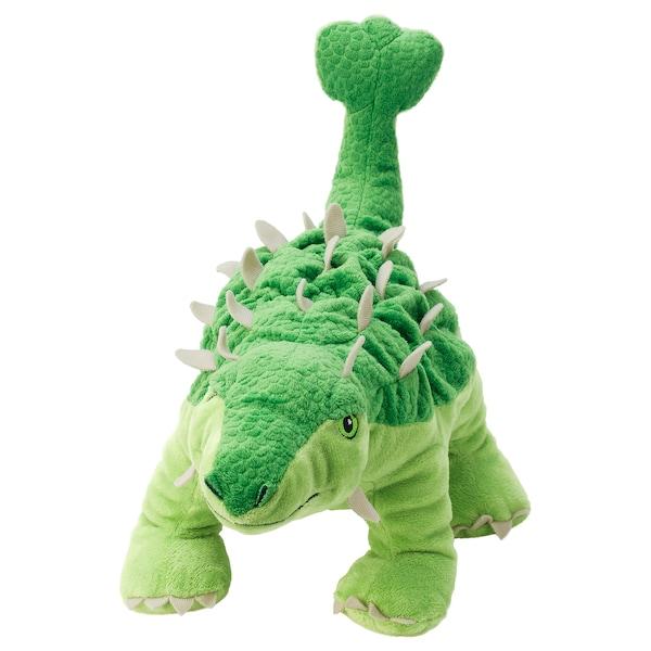JÄTTELIK Kosedyr, egg/dinosaur/dinosaur/ankylosaurus, 37 cm