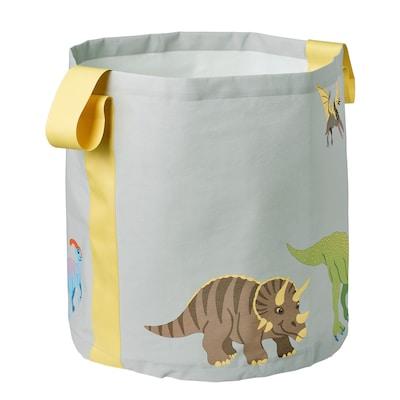 JÄTTELIK Oppbevaringspose, dinosaur