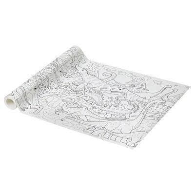 JÄTTELIK Rull med tegnepapir, 10 m
