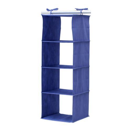 JÄLL Hengehylle, blå Bredde: 30 cm Dybde: 30 cm Høyde: 84 cm