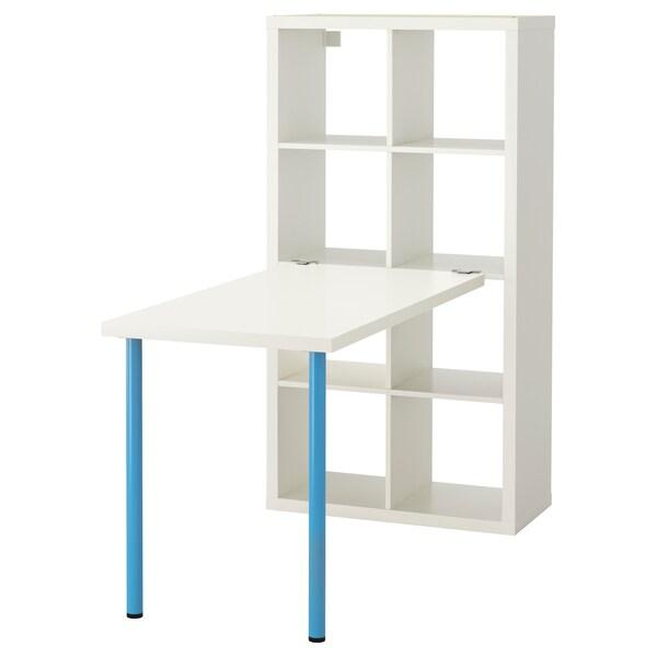 KALLAX Bordkombinasjon hvit IKEA