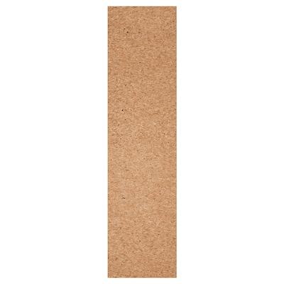 KIRKENES dør med hengsler korkfiner 49.5 cm 194.6 cm 201.2 cm 1.6 cm