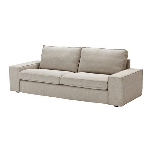 3 seter tekstilsofaer ikea for Sofa kivik 3 plazas