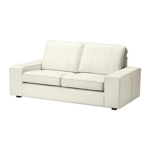 kivik 2 seters sofa grann bomstad hvit ikea. Black Bedroom Furniture Sets. Home Design Ideas