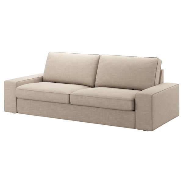 KIVIK 3-seters sofa, Hillared beige