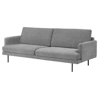 KLINTORP 3-seters sofa, grå