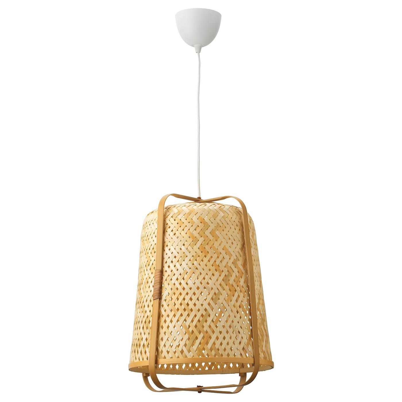 KNIXHULT Taklampe bambus