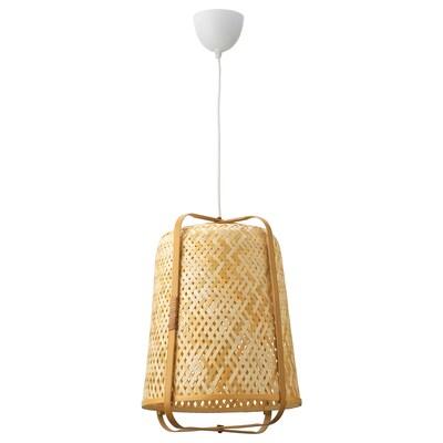 KNIXHULT Taklampe, bambus/håndlaget