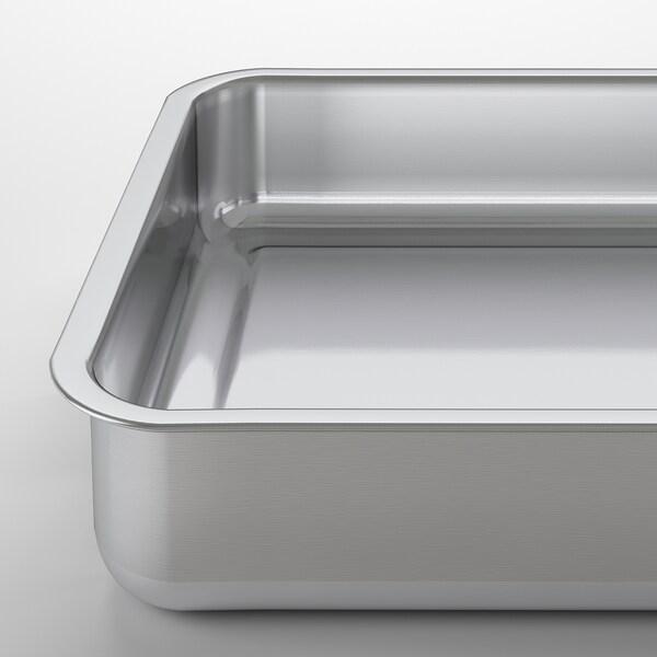 KONCIS Ovnsform, rustfritt stål, 34x24 cm