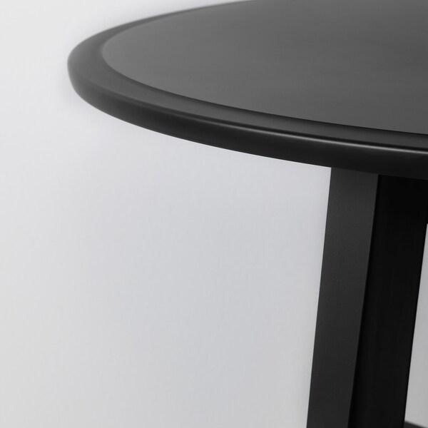 KRAGSTA bord svart 48 cm 90 cm