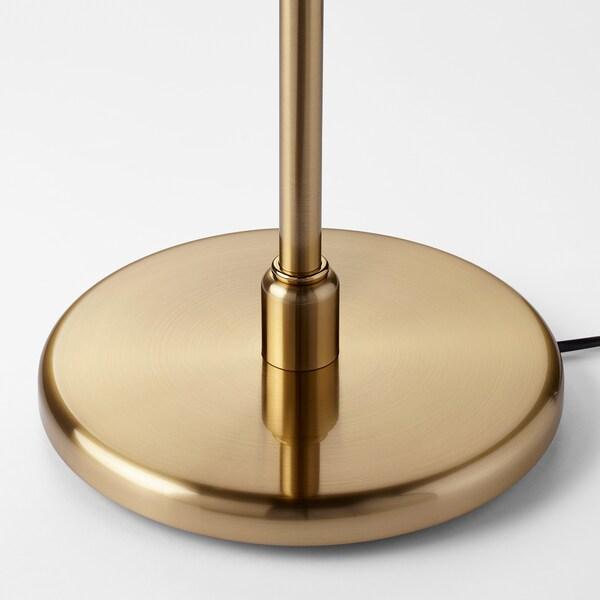 KRYSSMAST Bordlampefot, messingbelagt