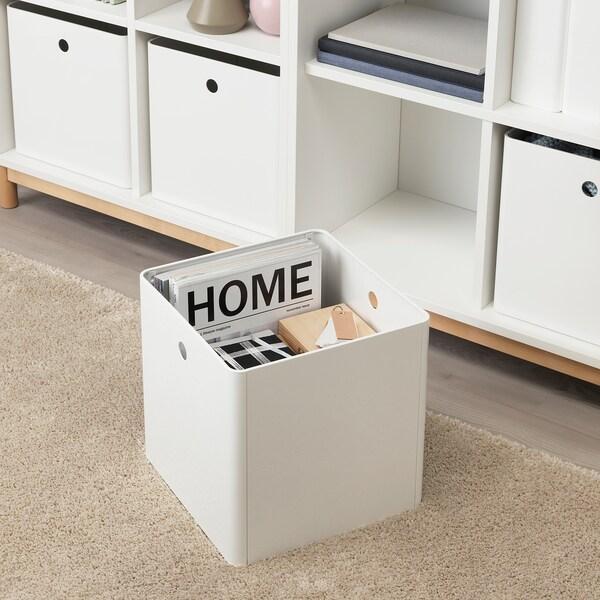 KUGGIS kasse hvit 30 cm 30 cm 30 cm