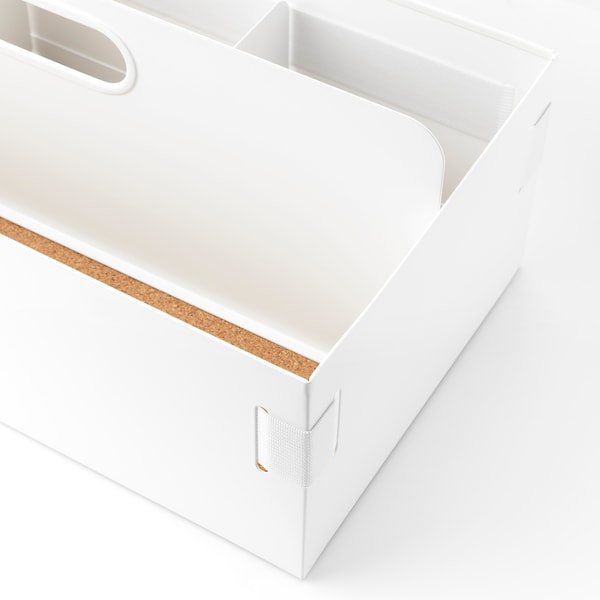 KVISSLE Oppbevaring til arbeidsbord, 18x36x14 cm