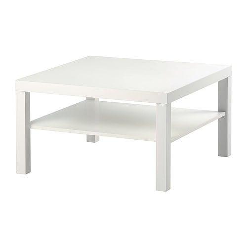 LACK Bord IKEA Separat hylle til oppbevaring av tidsskrift m.m; holder orden på tingene dine og gir en ryddigere bordplate.