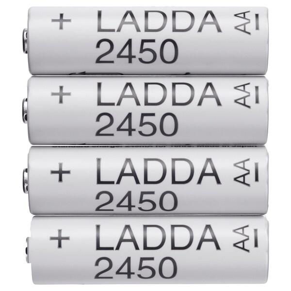 LADDA Oppladbart batteri, HR6 AA 1.2V