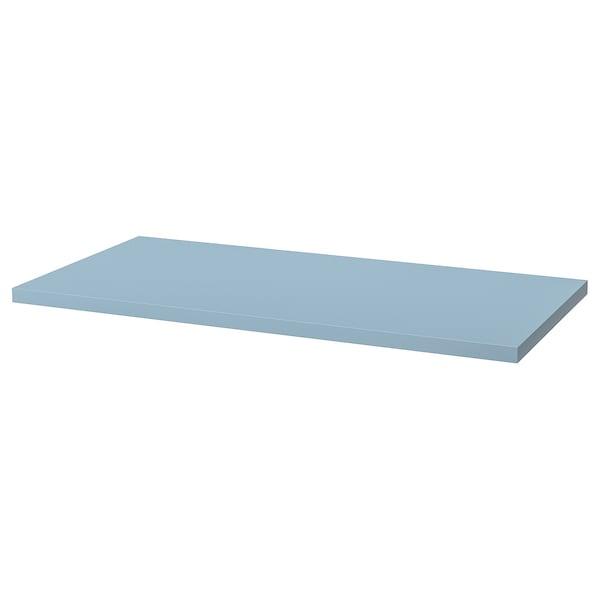 LAGKAPTEN Bordplate, lys blå, 120x60 cm