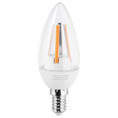 LEDARE LED-pære E14 400 lumen varm dimming/mignon klar 400 lm